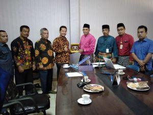 DPRD Kabupaten Rokan Hulu Kunjungi Bappeda Kabupaten Pelalawan
